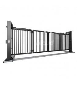 brama składana mobilna v-king grafitowa ral7016