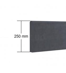podmurówka z betonu architektonicznego 250 mm