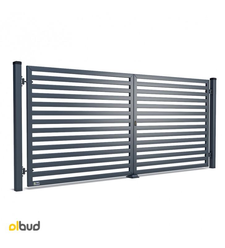 nowoczesna-brama-skrzydlowa-konsport-p64-poziome-lamele