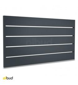 segment-przeslo-ogrodzeniowe-aluminiowe-nowoczesne-poziome-lamele-grafit-N05-alfen-2000x1067mm