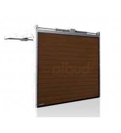brama-segmentowa-wisniowski-unipro-brazowa-automatyczna-przetloczenia-niskie-40mm-panel