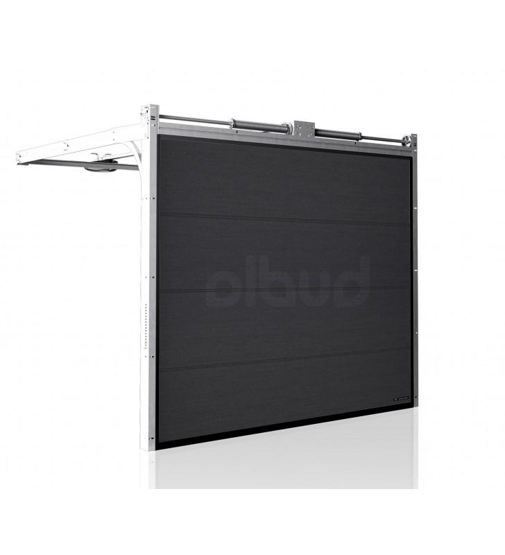 brama-segmentowa-wisniowski-unipro-grafitowa-automatyczna-przetloczenia-gladkie-40mm-panel