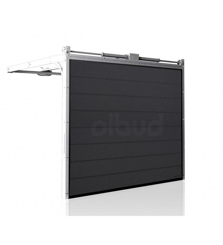 brama-segmentowa-wisniowski-unipro-grafitowa-automatyczna-przetloczenia-wysokie-40mm-panel