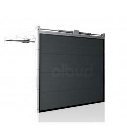 brama-segmentowa-wisniowski-unipro-modern-graphite-automatyczna-przetloczenia-gladkie-40mm-panel