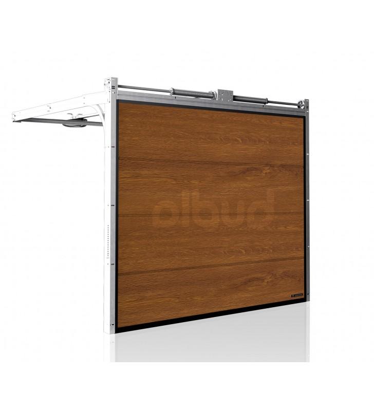 brama-segmentowa-wisniowski-unipro-zloty-dab-automatyczna-przetloczenia-gladkie-40mm-panel