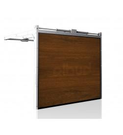 brama-segmentowa-wisniowski-unipro-orzech-automatyczna-przetloczenia-gladkie-40mm-panel