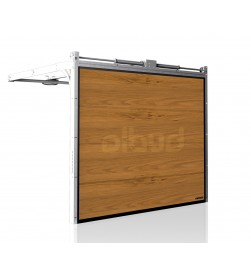 brama-segmentowa-wisniowski-unipro-winchester-automatyczna-przetloczenia-gladkie-40mm-panel