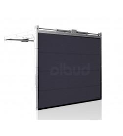 brama-segmentowa-wisniowski-ciepla-unitherm-antracyt-automatyczna-przetloczenia-gladkie-60mm-panel