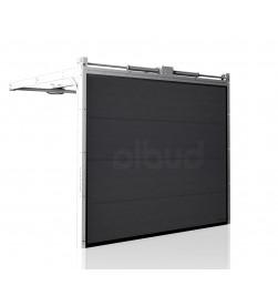 brama-segmentowa-wisniowski-ciepla-unitherm-grafitowa-automatyczna-przetloczenia-gladkie-60mm-panel
