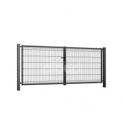 brama-skrzydlowa-panelowa-3d-wisniowski-fi5-modest-3000x1230mm-ral7016