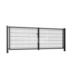 brama-skrzydlowa-panelowa-3d-wisniowski-fi5-modest-3500x1530mm-ral7016