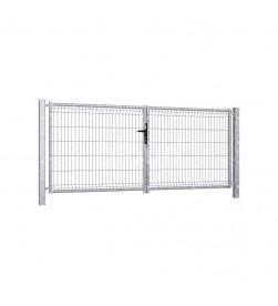 brama-skrzydlowa-panelowa-3d-wisniowski-fi4,8-modest-3000x1230mm-ocynk