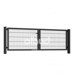 brama-skrzydlowa-panelowa-2d-wisniowski-gardia-3000x1000mm-7016