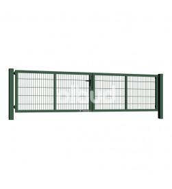 brama-skrzydlowa-panelowa-2d-wisniowski-gardia-4000x1000mm-6005