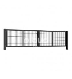 brama-skrzydlowa-panelowa-2d-wisniowski-gardia-4000x1000mm-7016