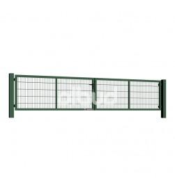 brama-skrzydlowa-panelowa-2d-wisniowski-gardia-5000x1000mm-6005