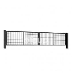 brama-skrzydlowa-panelowa-2d-wisniowski-gardia-5000x1000mm-7016