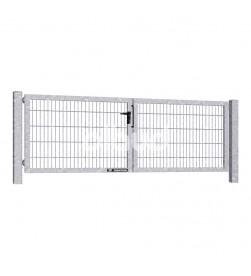 brama-skrzydlowa-panelowa-2d-wisniowski-gardia-3000x1000mm-ocynk