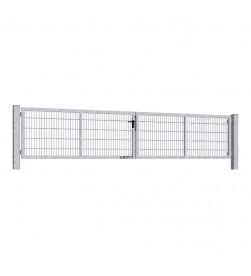 brama-skrzydlowa-panelowa-2d-wisniowski-gardia-5000x1000mm-ocynk