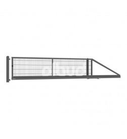 brama-przesuwna-panelowa-gardia-wisniowski-vega2d-4000x1000mm-grafit