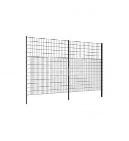 panel ogrodzeniowy vega 2d super i super sport 3100 mm grafit