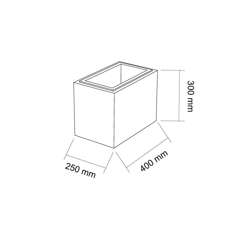 szkic bloczek gaag 400x250x300mm