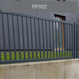 konsport pp002 nowoczesne ogrodzenie pionowe