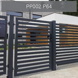 konsport p64 ogrodzenia nowoczesne
