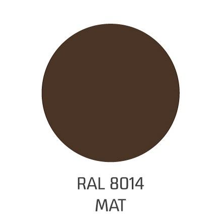 ral8014 mat
