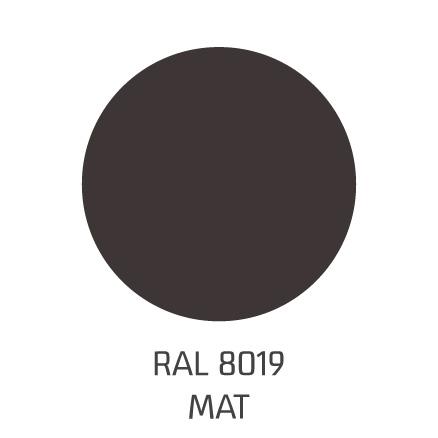 ral8019 mat