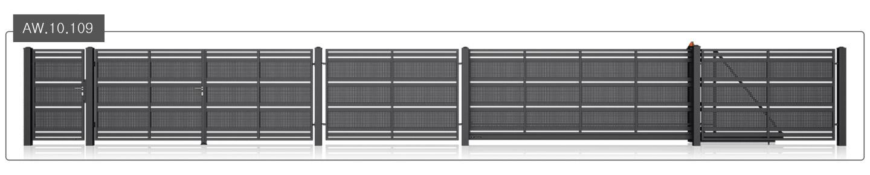ogrodzenie modern aw.10.109