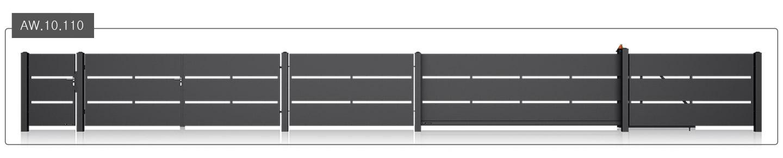 ogrodzenie modern aw.10.110