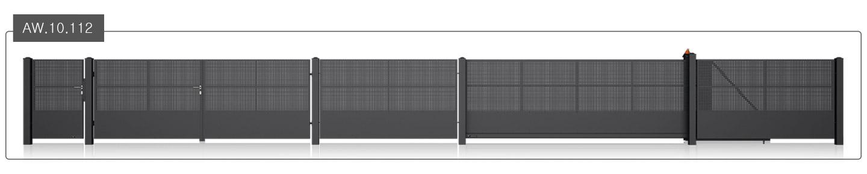 ogrodzenie modern aw.10.112
