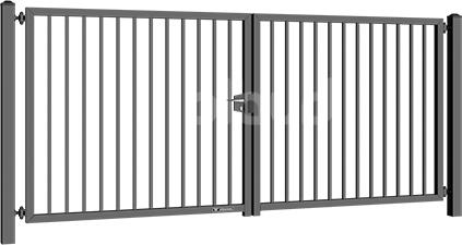 bramy dwuskrzydlowe bastion
