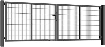 bramy dwuskrzydlowe gardia