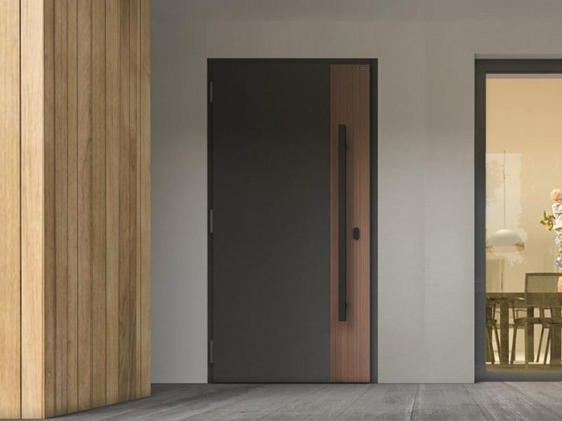 drzwi nowoczesne aluminiowo stalowe nova wiśniowski