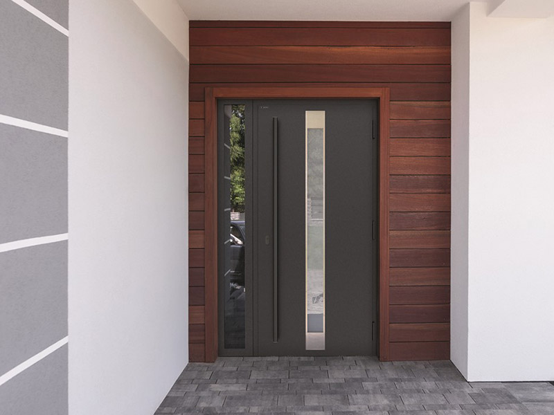 drzwi nova wiśniowski czarny pochwyt