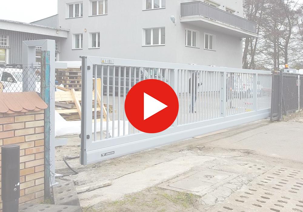 montaż i dostawa bramy przesuwnej pi200 wiśniowski