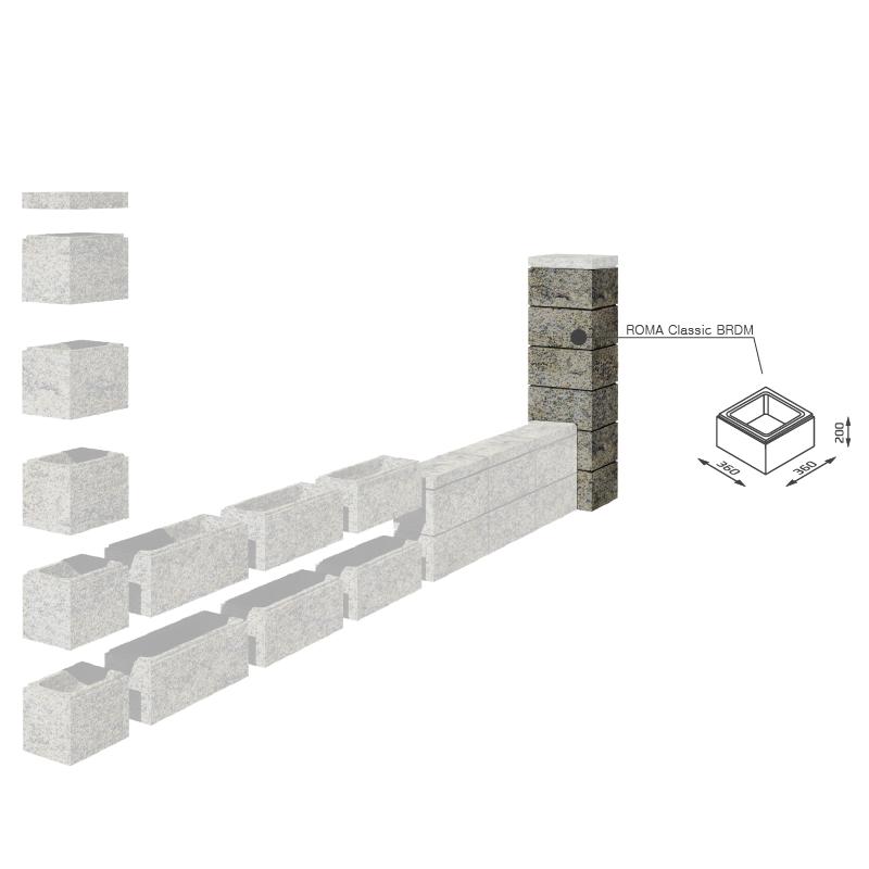 bloczek-na-ogrodzenie-murowane-nowoczesne-joniec-roma-classic-brdm-schemat