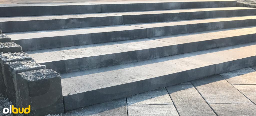 nowoczesne stopnie schodowe gładkie kost-bet