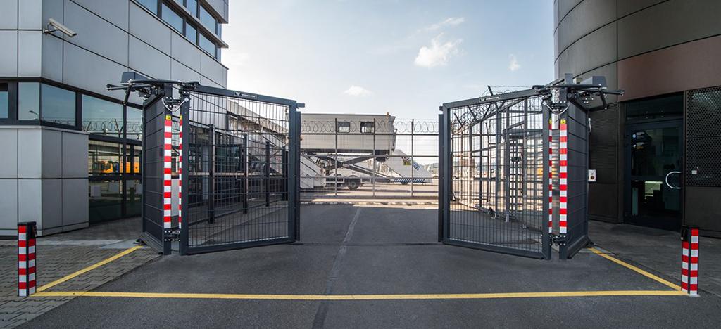 przemysłowa brama składana v-king